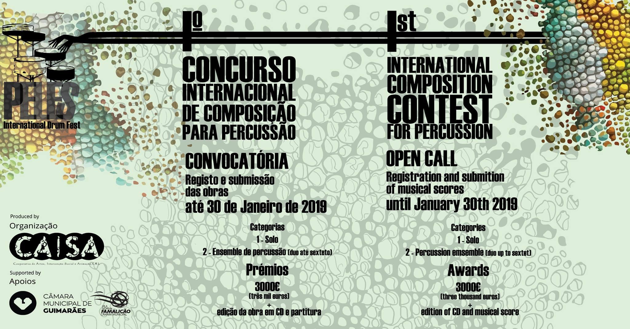Luís Carvalho » Peles Drum Fest Composition Competition